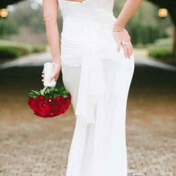 Featured - Bella Collina, private residence, Vangie's Events of Distinction, Blossoms Arrangements of Distinction, Orlando wedding, red wedding ideas, red rose bouquet