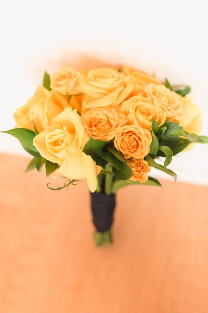 maid yellow bouquet
