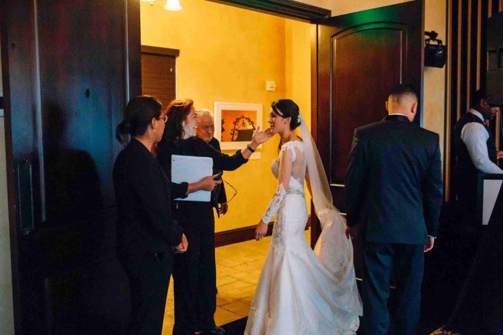 wedding planning 101 Vangie wedding planner with bride