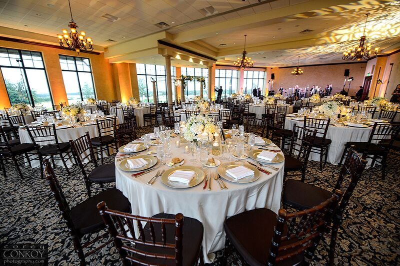 Corey Conroy Photography, Bella Collina, Vangie's Events of Distinction, Vangie Events, Blossoms, elegant ballroom reception