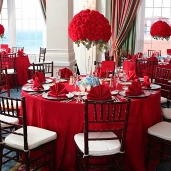 Red Event Decor - Fundraisers