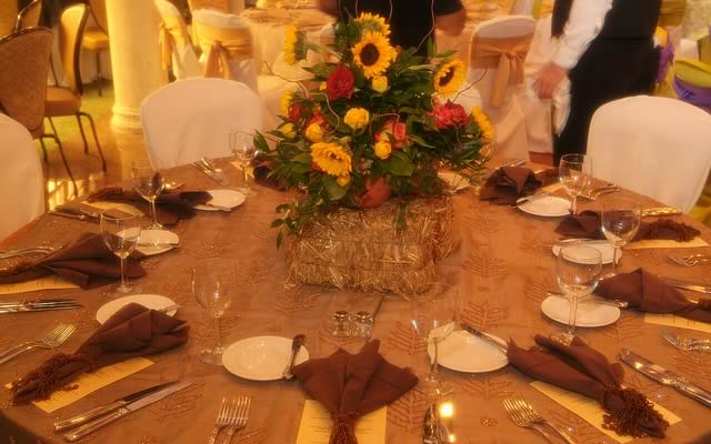 Rustic Farm Centerpieces Themed Events