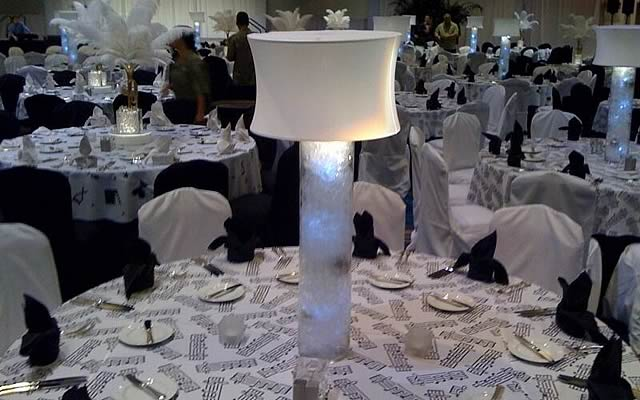 White Great Gatsby Themed Events