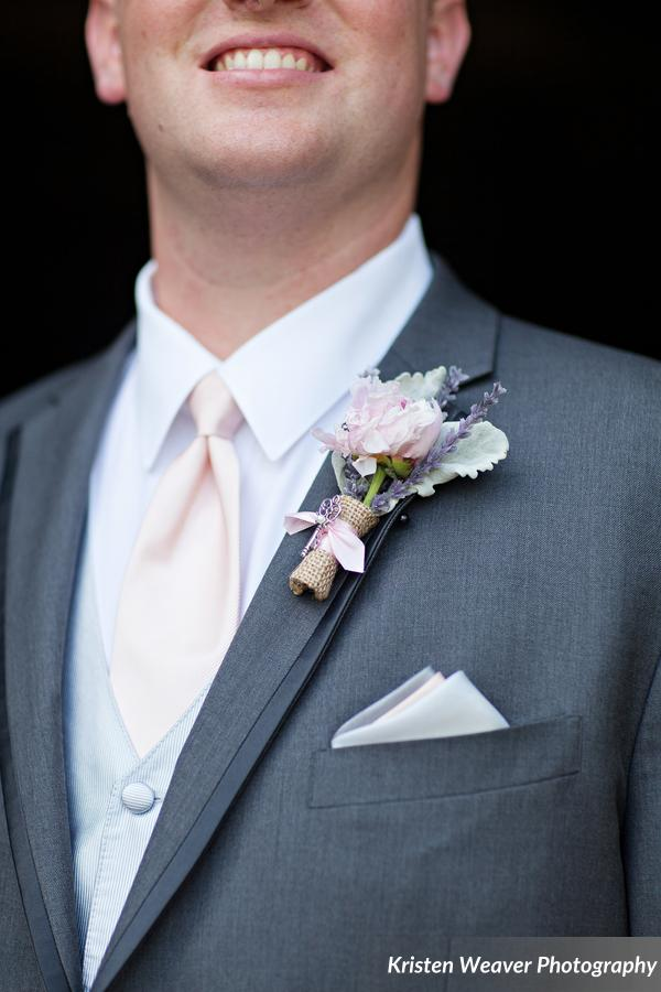 Boutonniere with charm