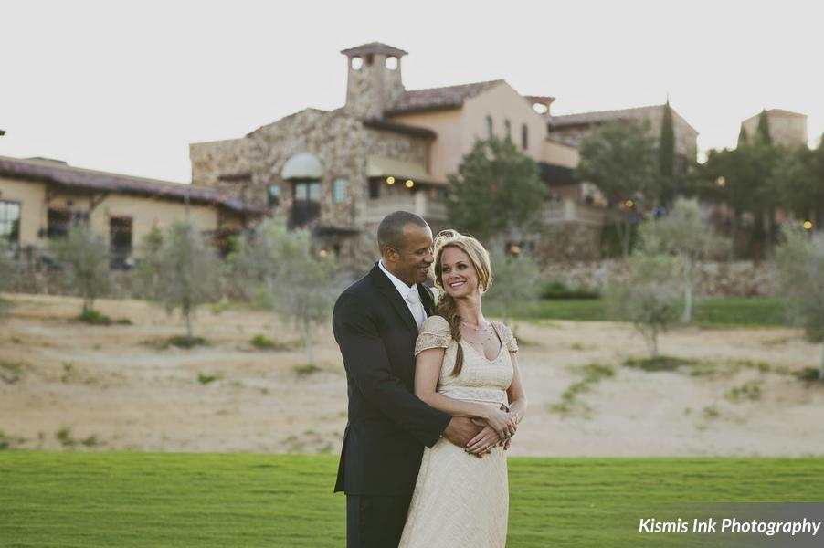 Bella Collina: Ericka and Kemel's Green and Gold Wedding