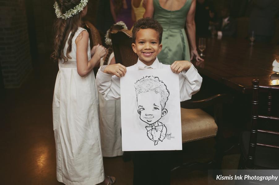Caricatures - wedding entertainment