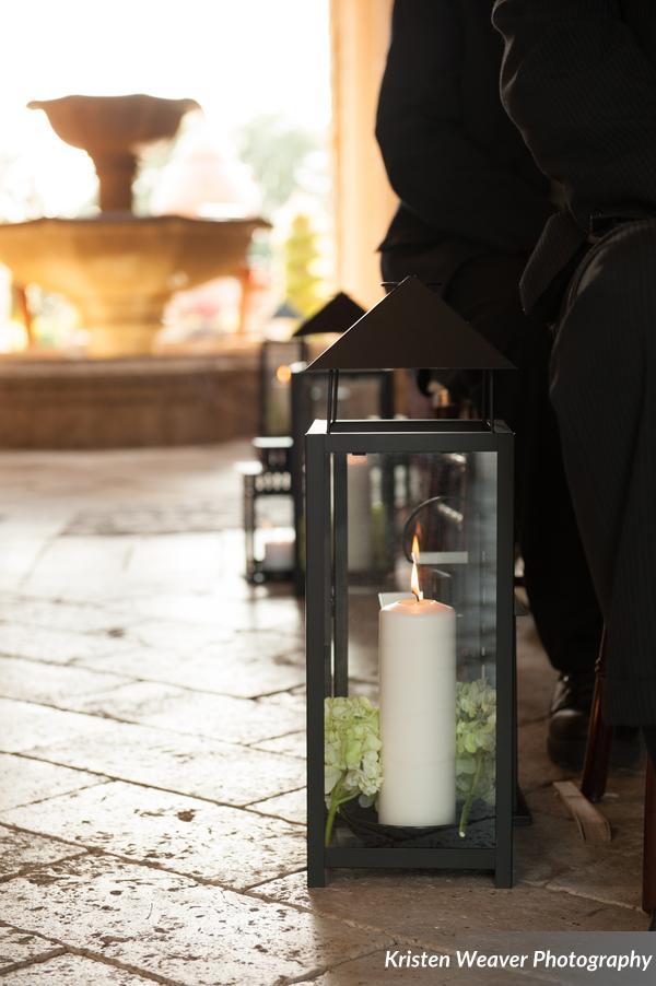 Lanterns - ceremony decor
