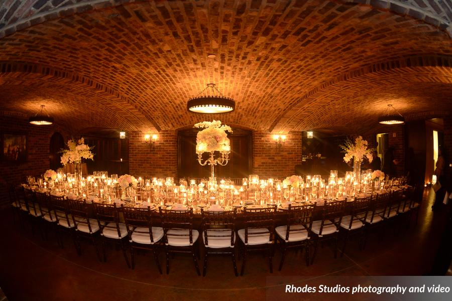 candle reception