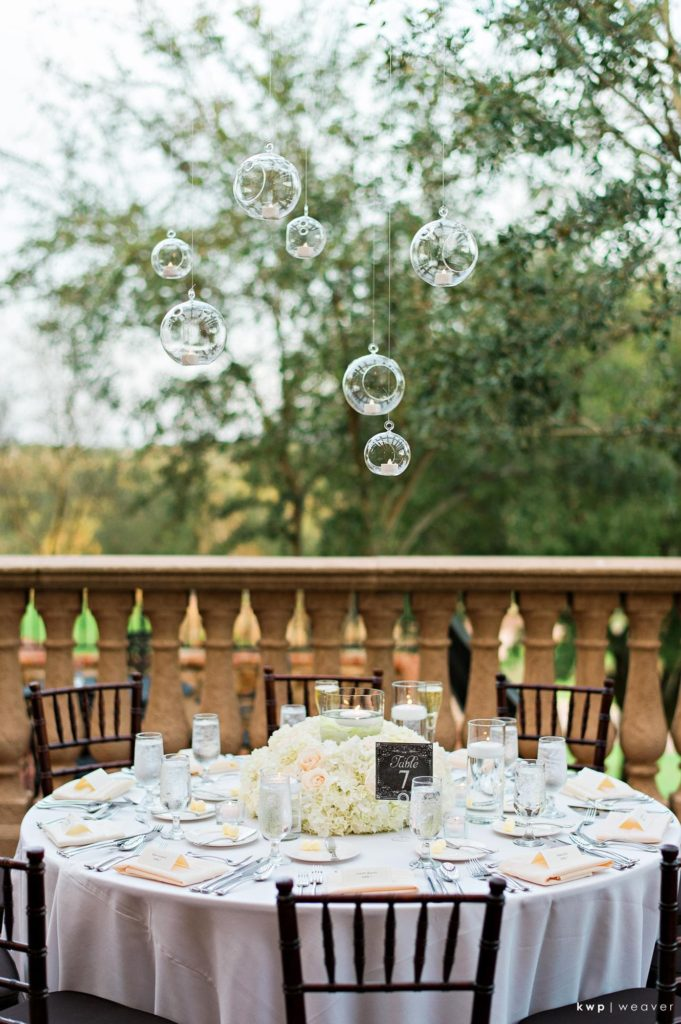 Green and White Wedding, Tabletop Decor-min