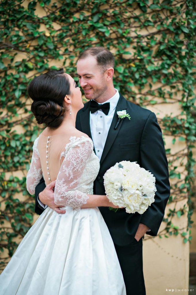 White Wedding, Bridal Bouquet