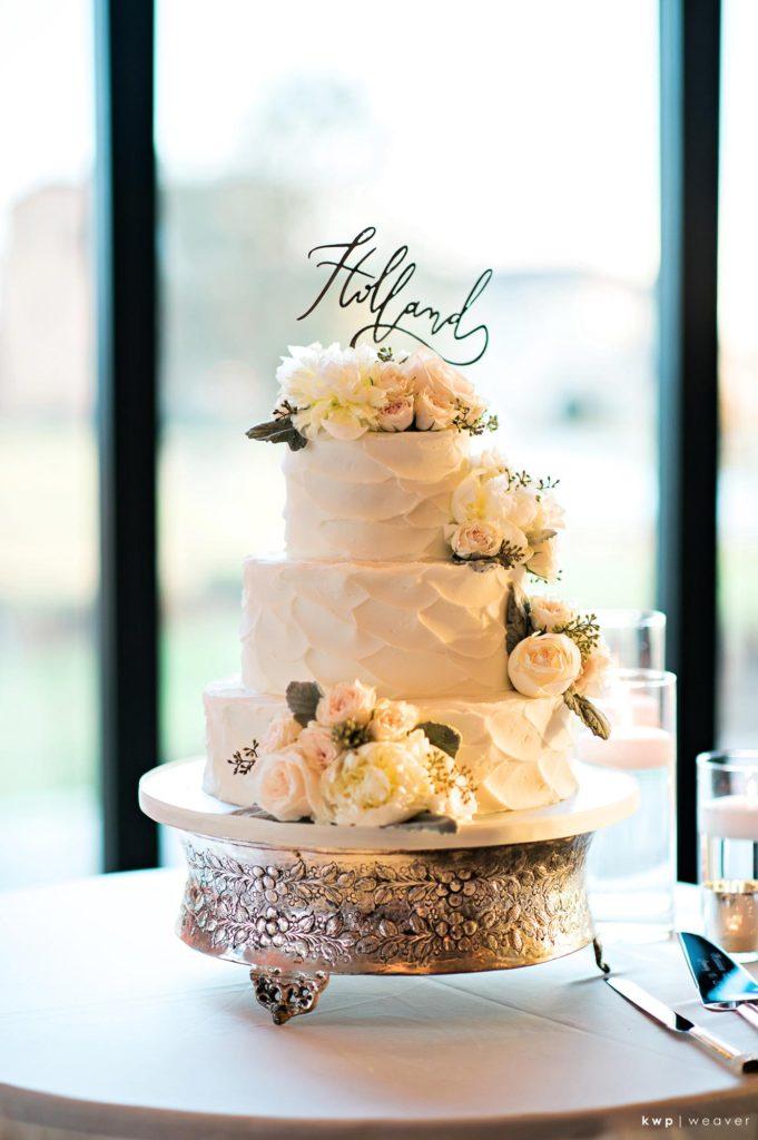 White Wedding, Buttercream Cake