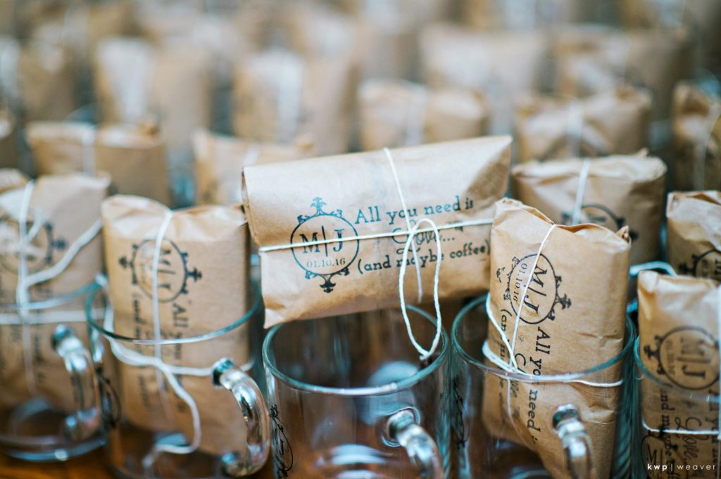 White Wedding, Coffee Guest Favors