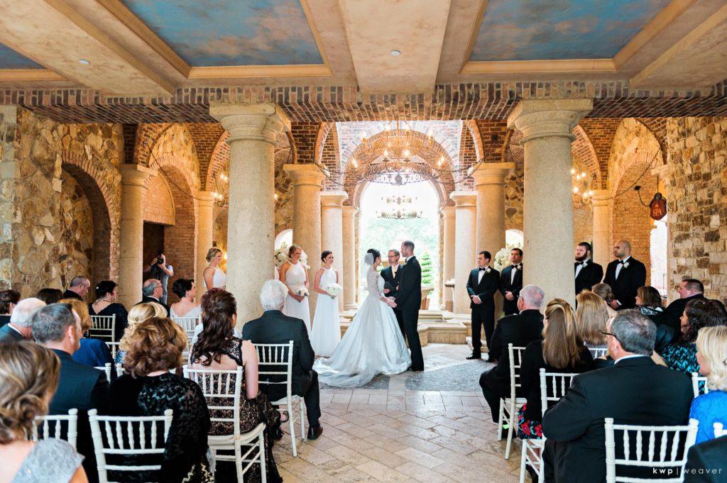 White Wedding, Outdoor Ceremony