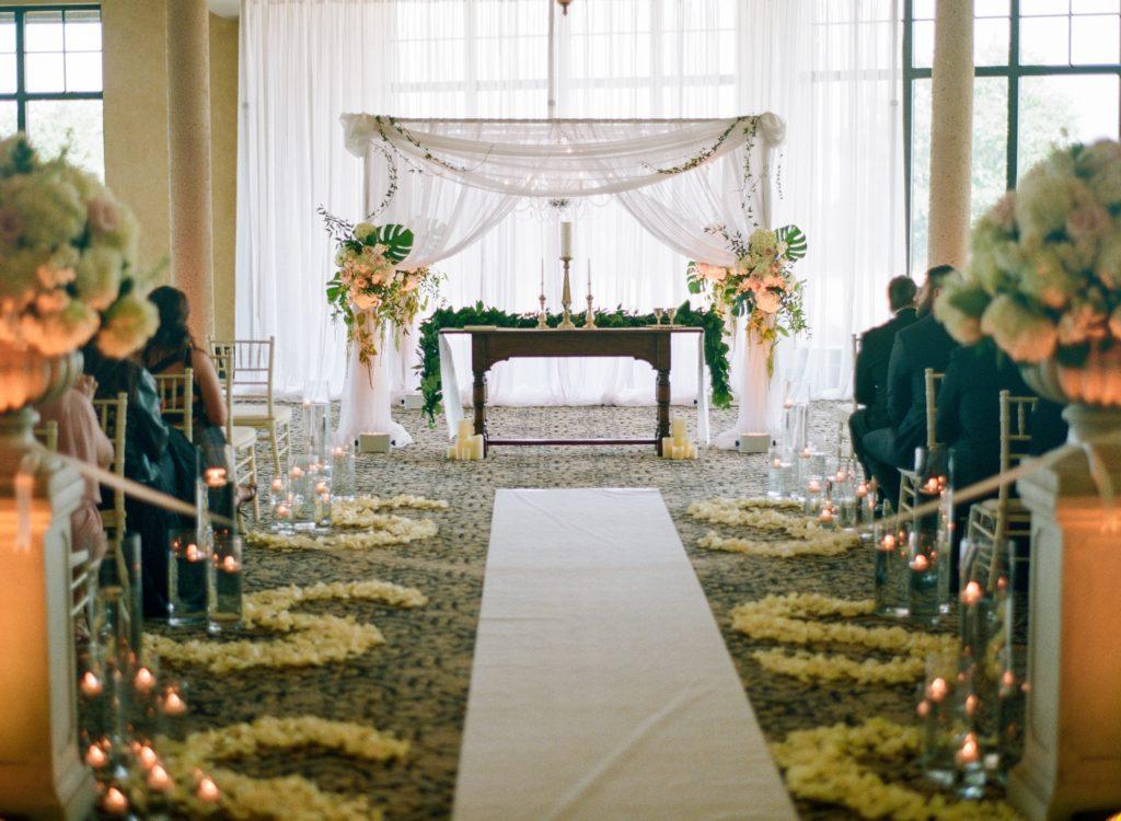David & Elesha fairytale wedding ceremony