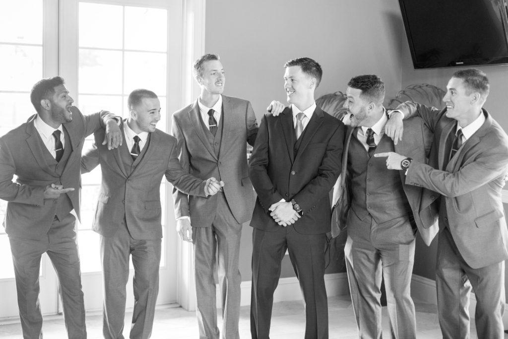 spencer and groomsmen