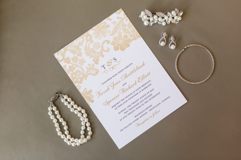 t&s invite and jewelry