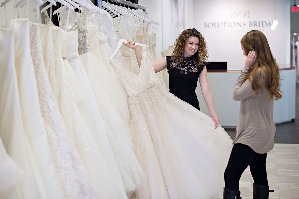Solutions Bridal: Couture Fashion