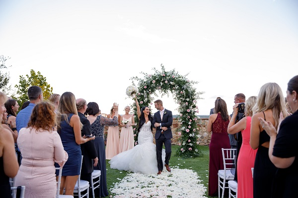 Bella Collina- Dreamy Floral Arch