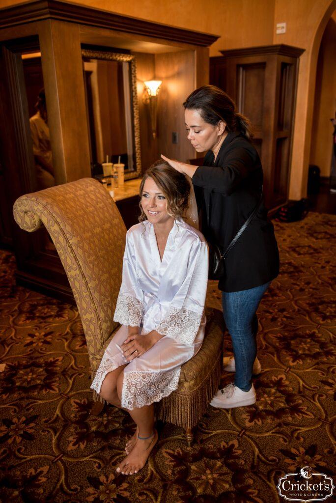 Bella Collina Bride Getting Ready