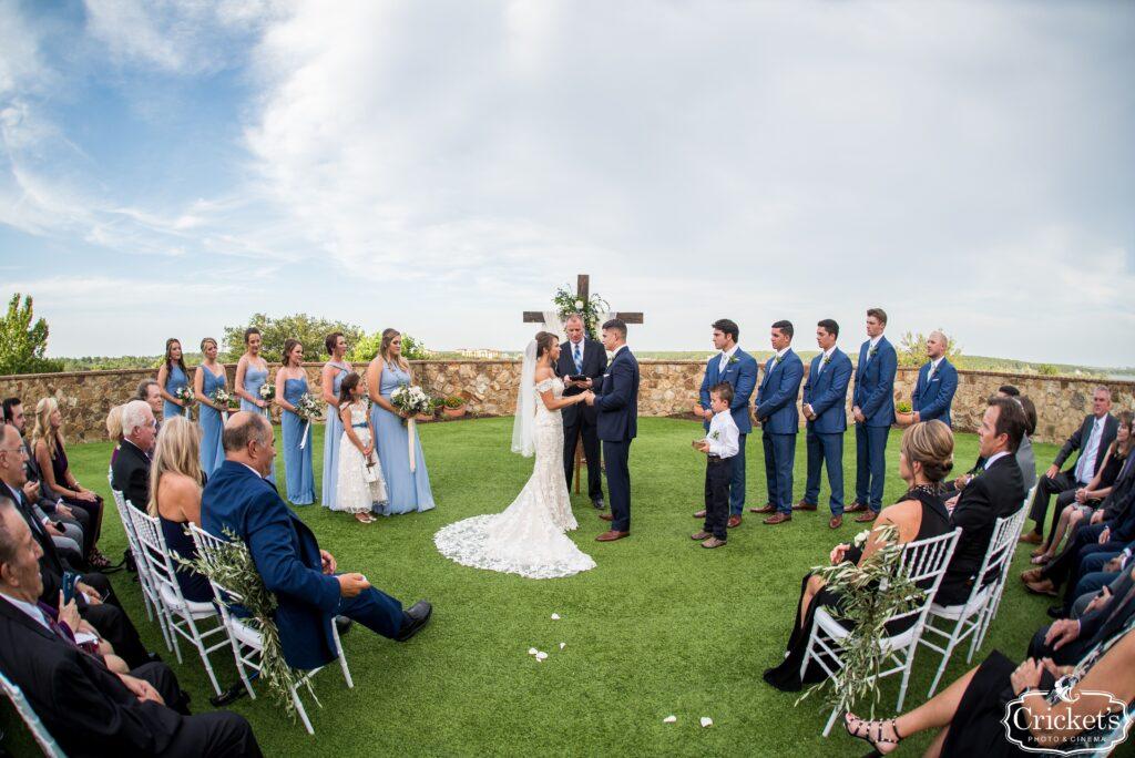 Katie and Cody's Wedding Ceremony at Bella Collina