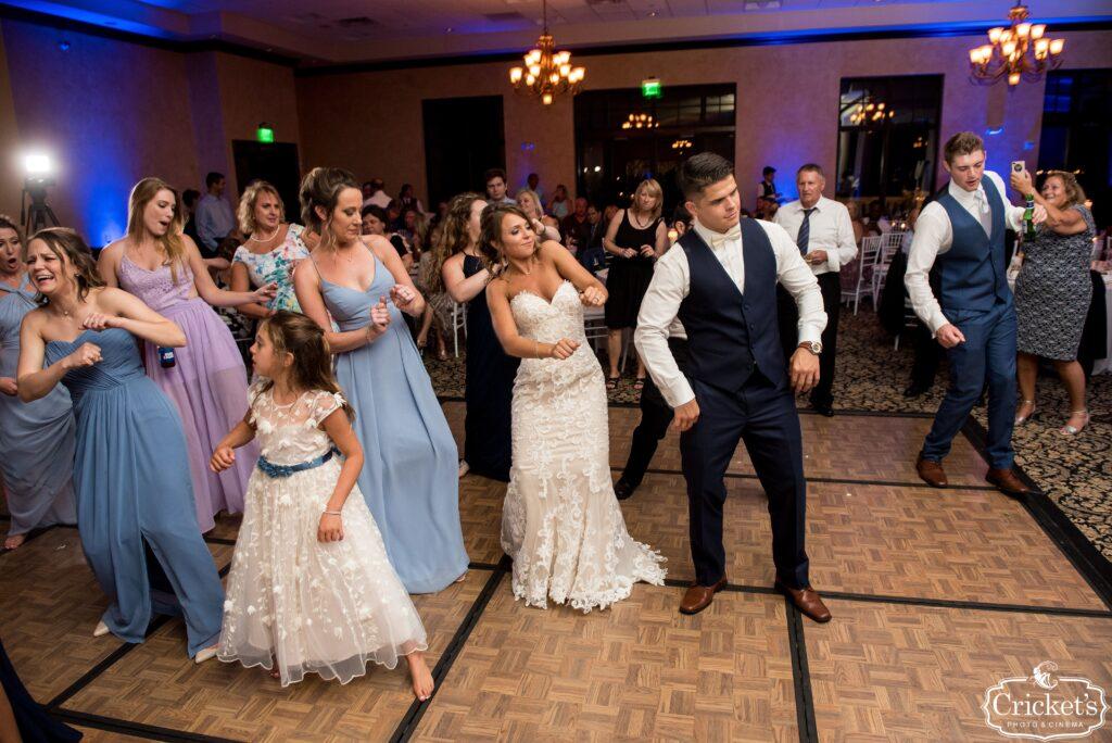 Wedding Reception Dancing at Katie and Cody's Bella Collina Wedding