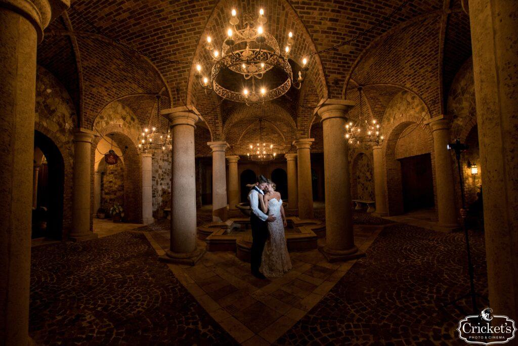 Katie and Cody Bella Collina Bridal Portrait