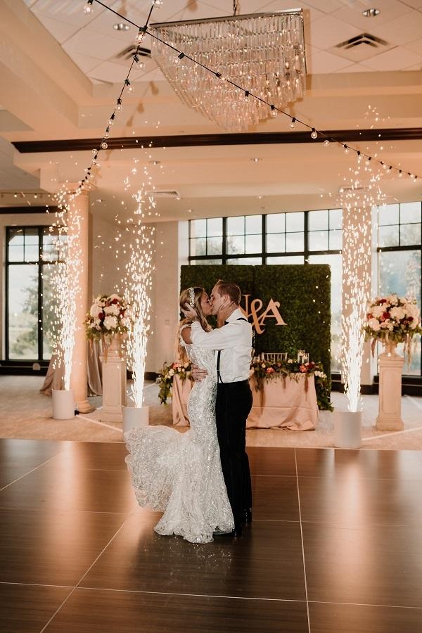Nikoletta and Andy- Bella Collina wedding- Vangie Events