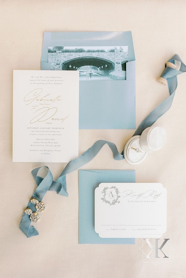 Vangie Events- Gabby and David-Dusty Blue Bella Collina Wedding